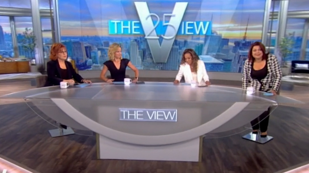 The View hosts learn they're COVID positive on air in dramatic footage