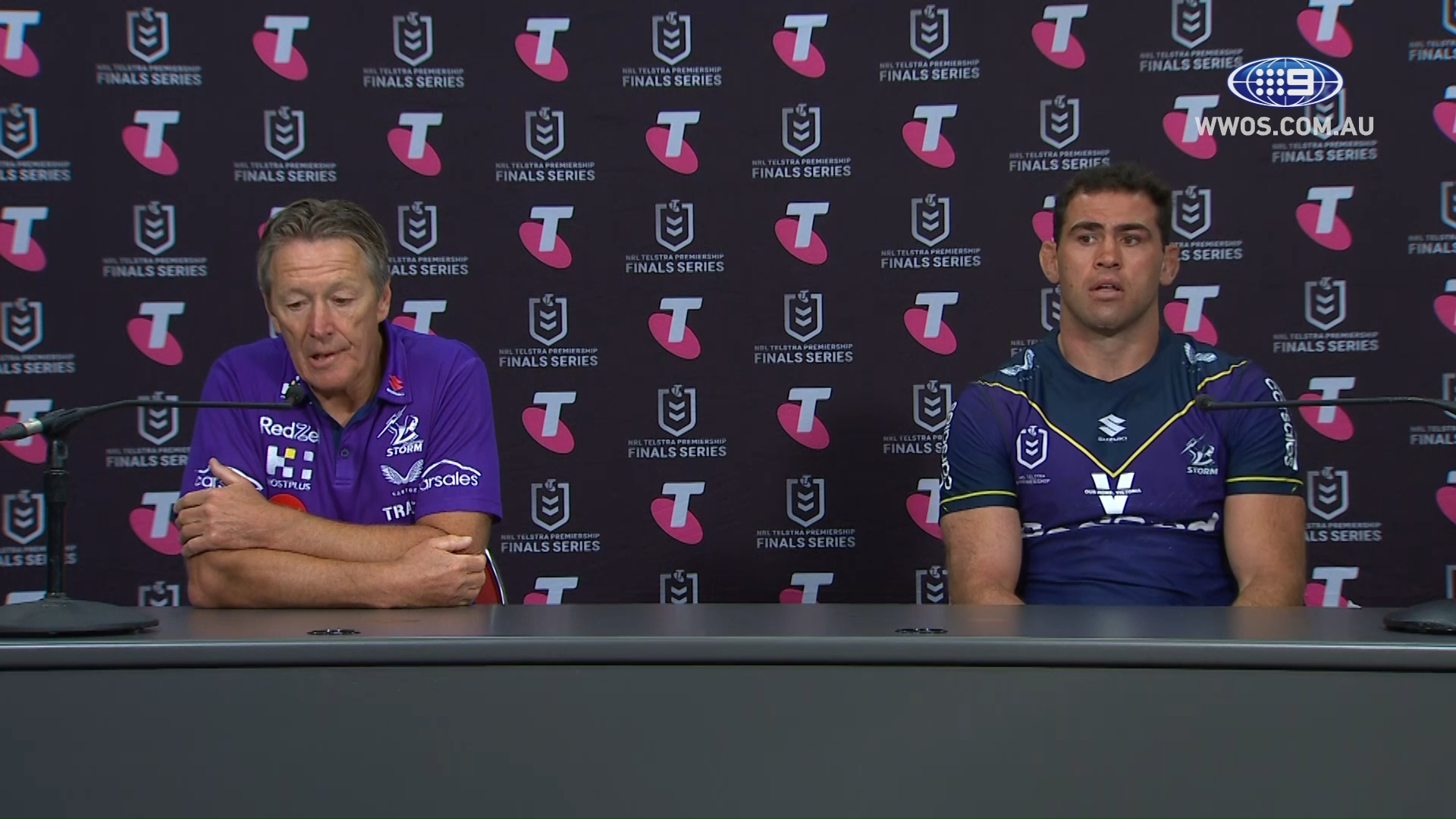 NRL Presser: Bellamy upset with missed opportunities - Preliminary Finals