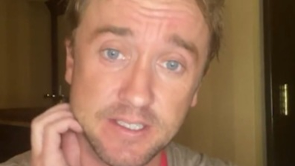 Tom Felton says he's 'on the mend' after medical incident at celebrity golf match