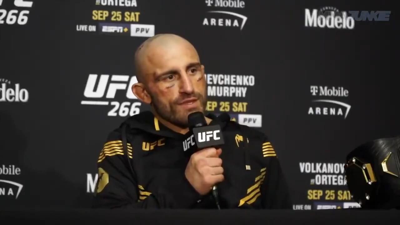 Volkanovski hits back at McGregor