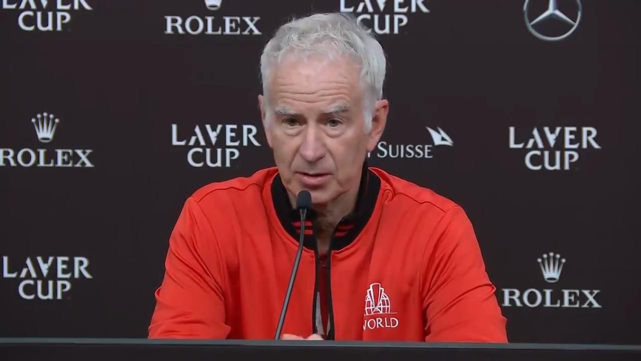 McEnroe makes vow after Laver Cup defeat