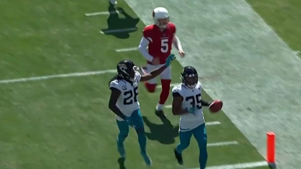 Jaguars score stunning 109 yard touchdown