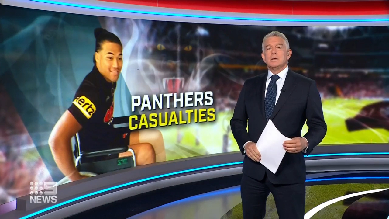 Panthers walking wounded into grand final
