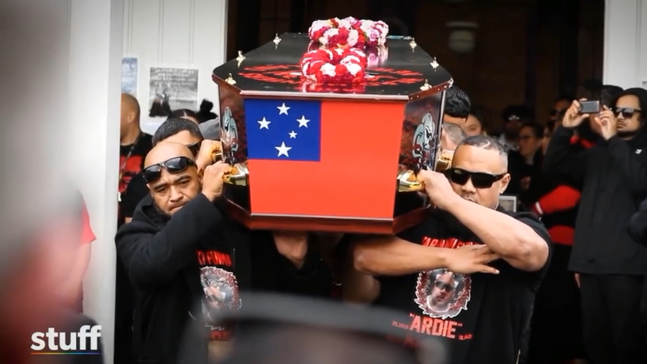 Gang members charged after funeral procession on Auckland streets