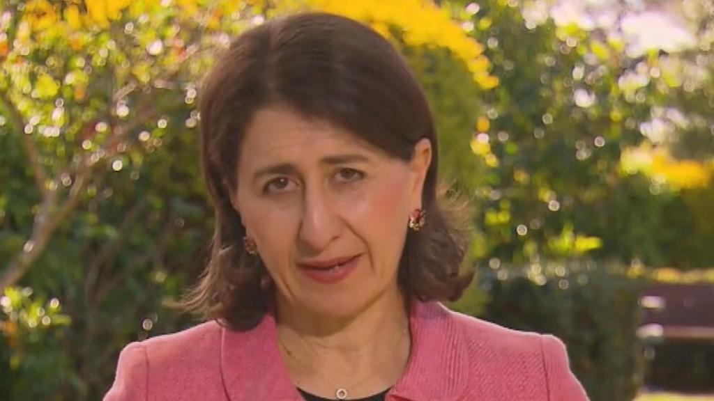 NSW Premier on state's reopening plan