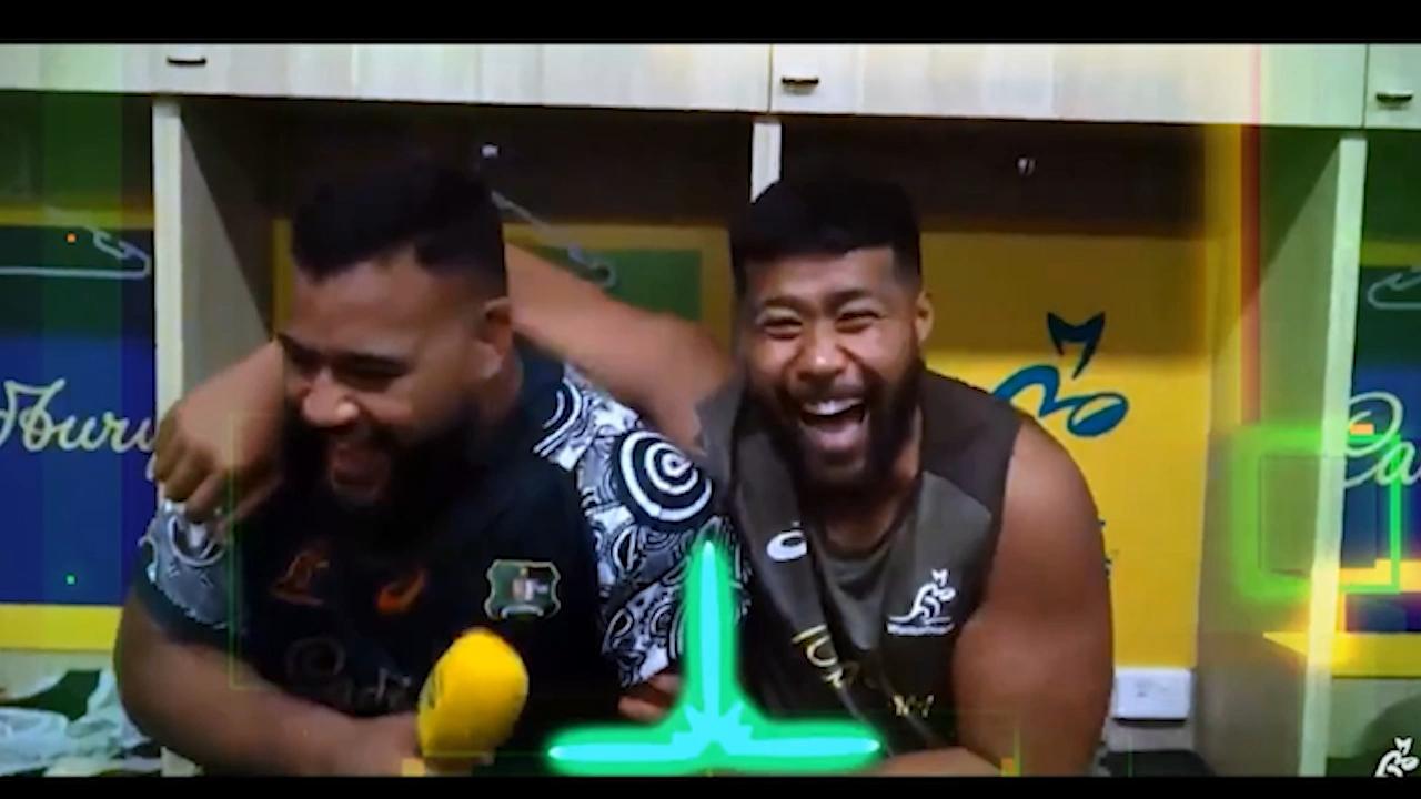 Tongan Thor turns roving reporter