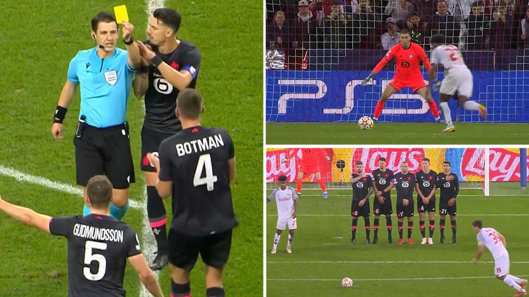 Champions League highlights: Salzburg vs LOSC