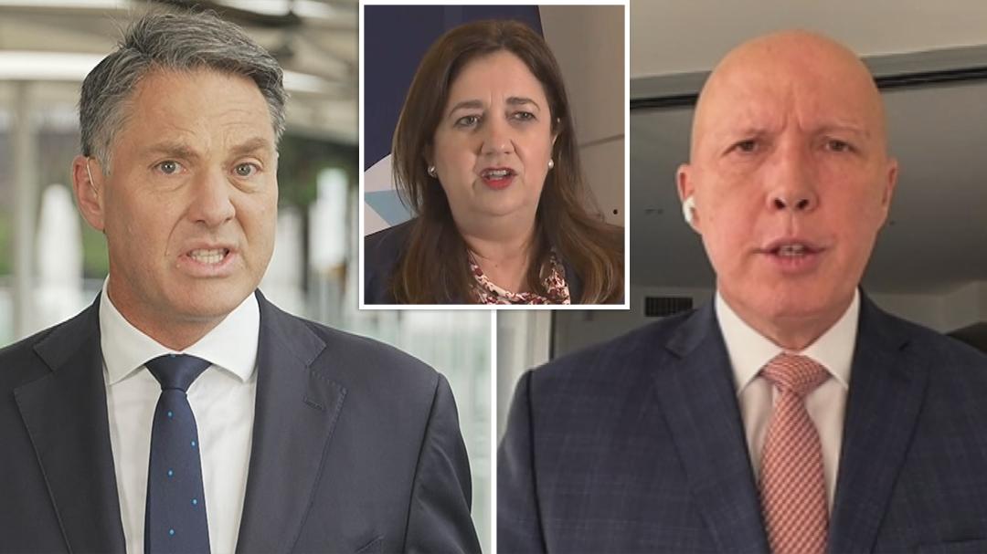 Palaszczuk 'treating people like mugs' says Dutton
