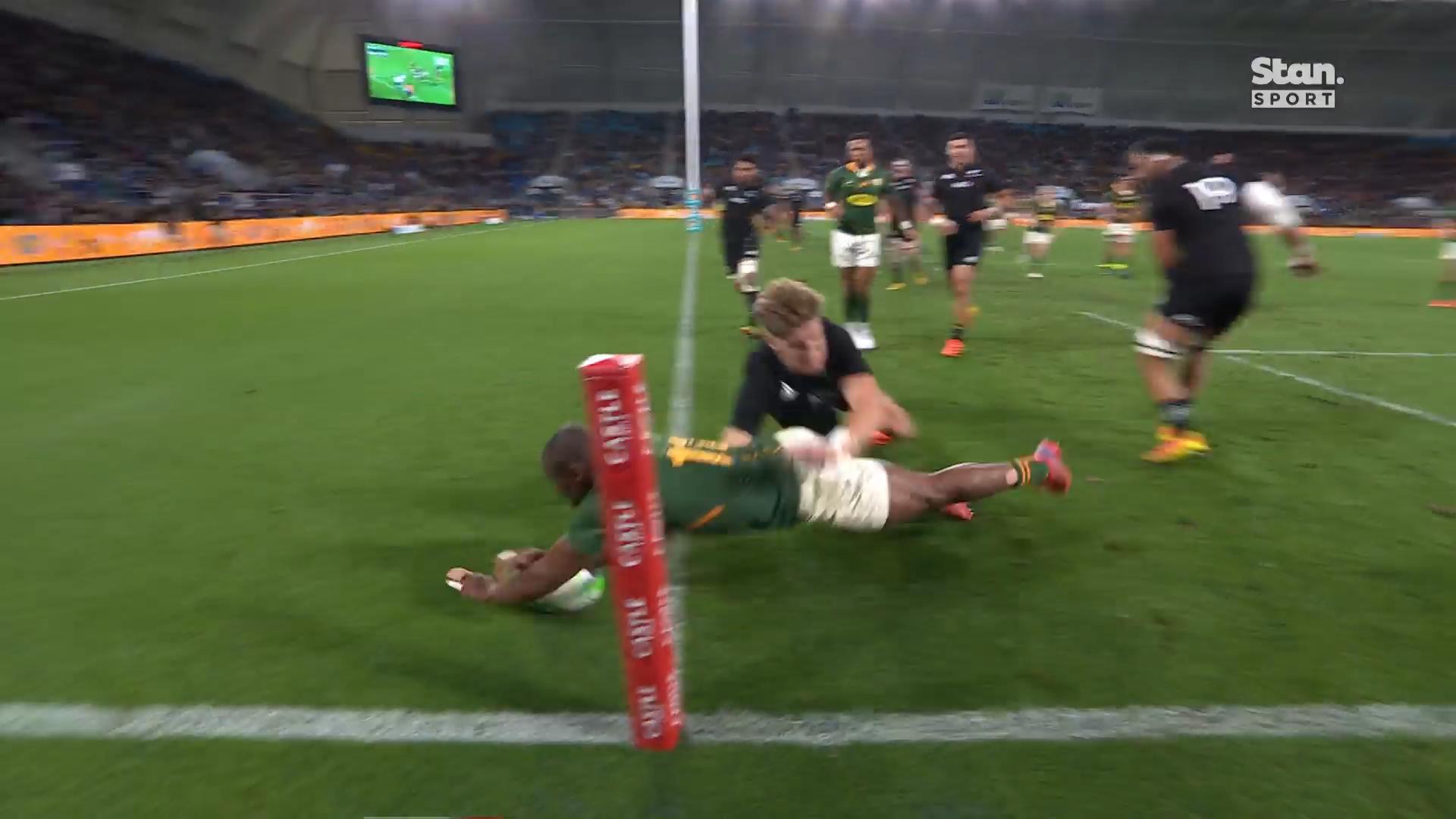 Springboks regain lead in epic Test