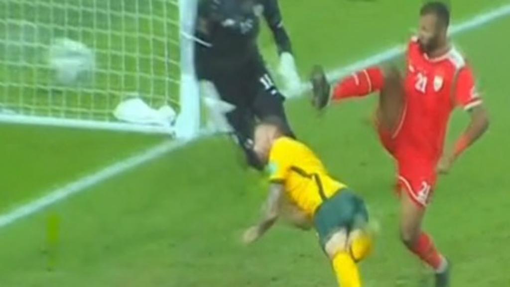 Australia downs Oman in World Cup qualifier