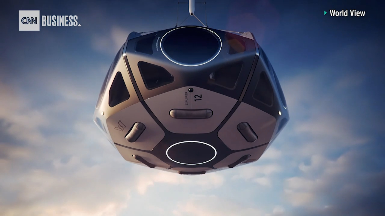 Want to go to space in a balloon? You could for $50,000