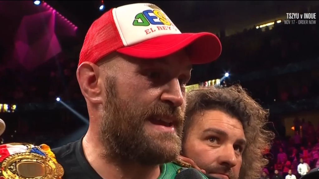 Tyson Fury takes aim at Deontay Wilder post-fight
