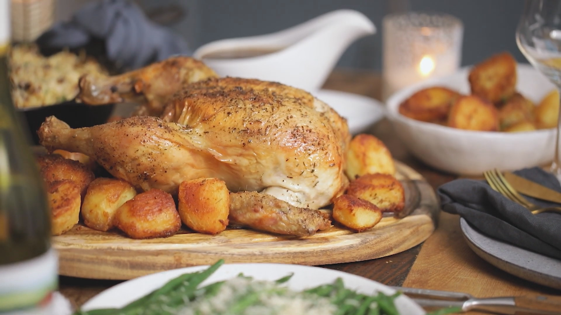 All the best roast chooks at the supermarket