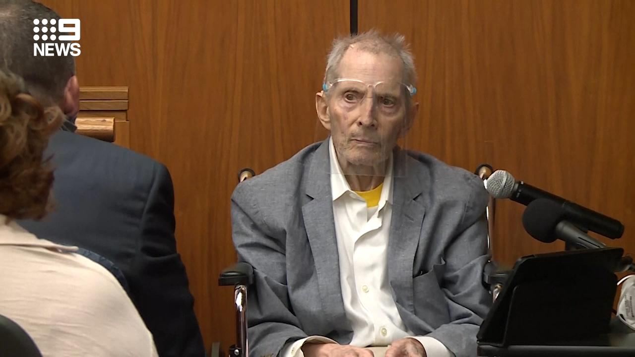 Robert Durst sentenced to life for murder of best friend