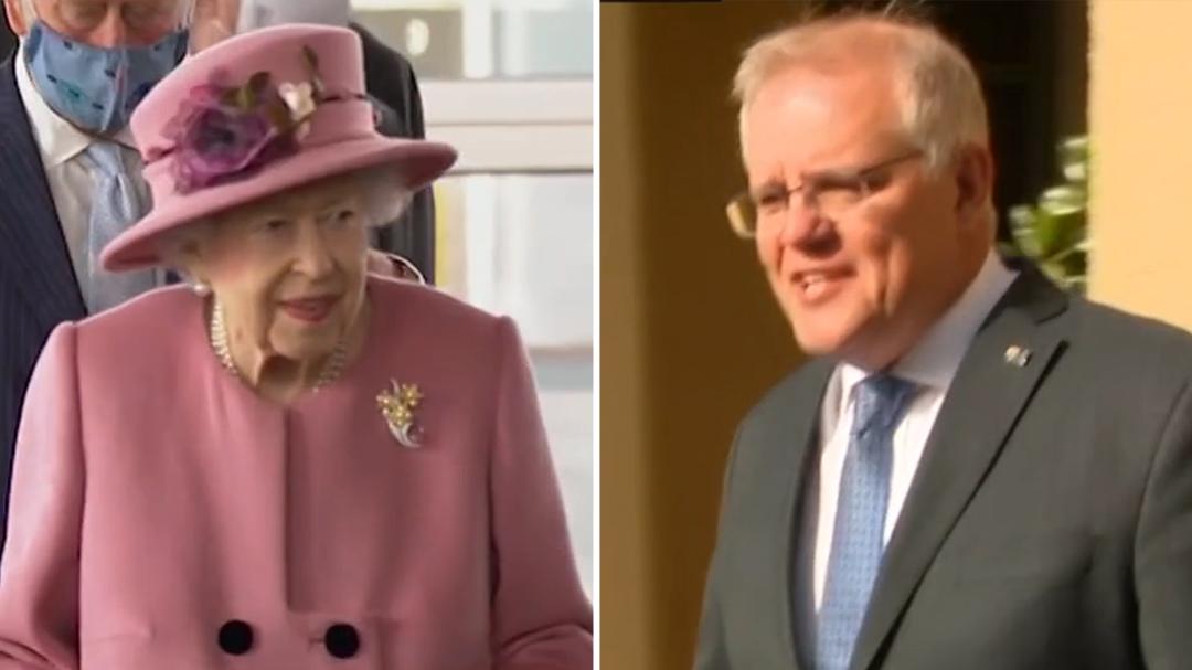 Queen overheard dissing Scott Morrison