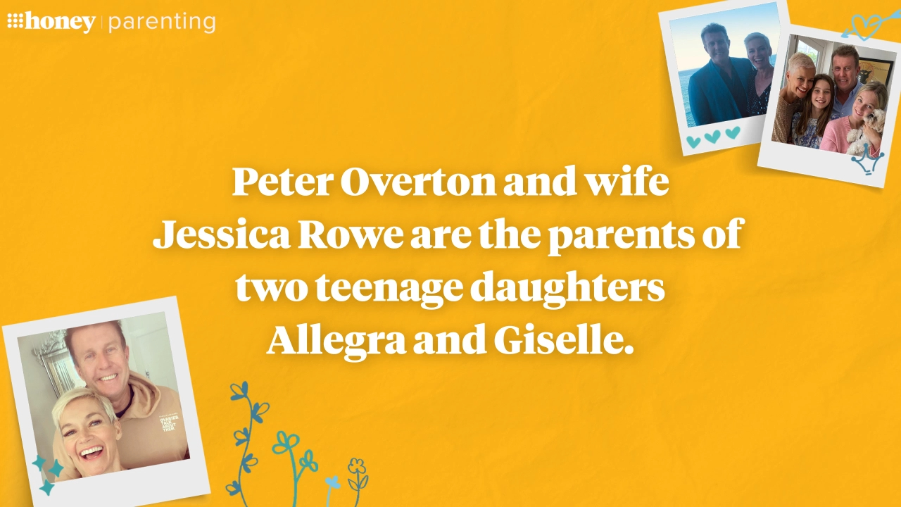 Peter Overton on why he loves being a girl dad