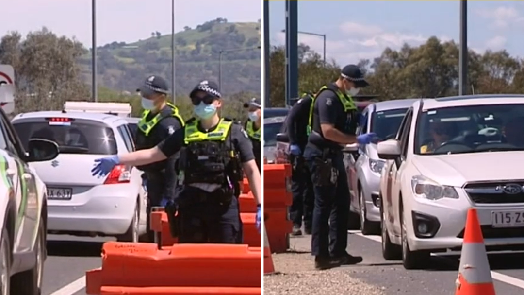 Confusion in Victoria over lockdown restrictions as NSW residents now allowed in