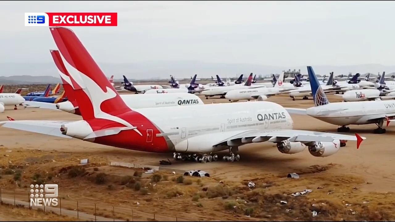 Qantas readies for international return