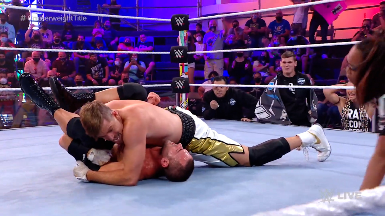 Grayson Waller takes on Roderick Strong for the NXT Cruiserweight Title