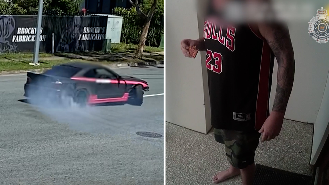 Man in Caloundra becomes first charged under newly tightened hooning laws