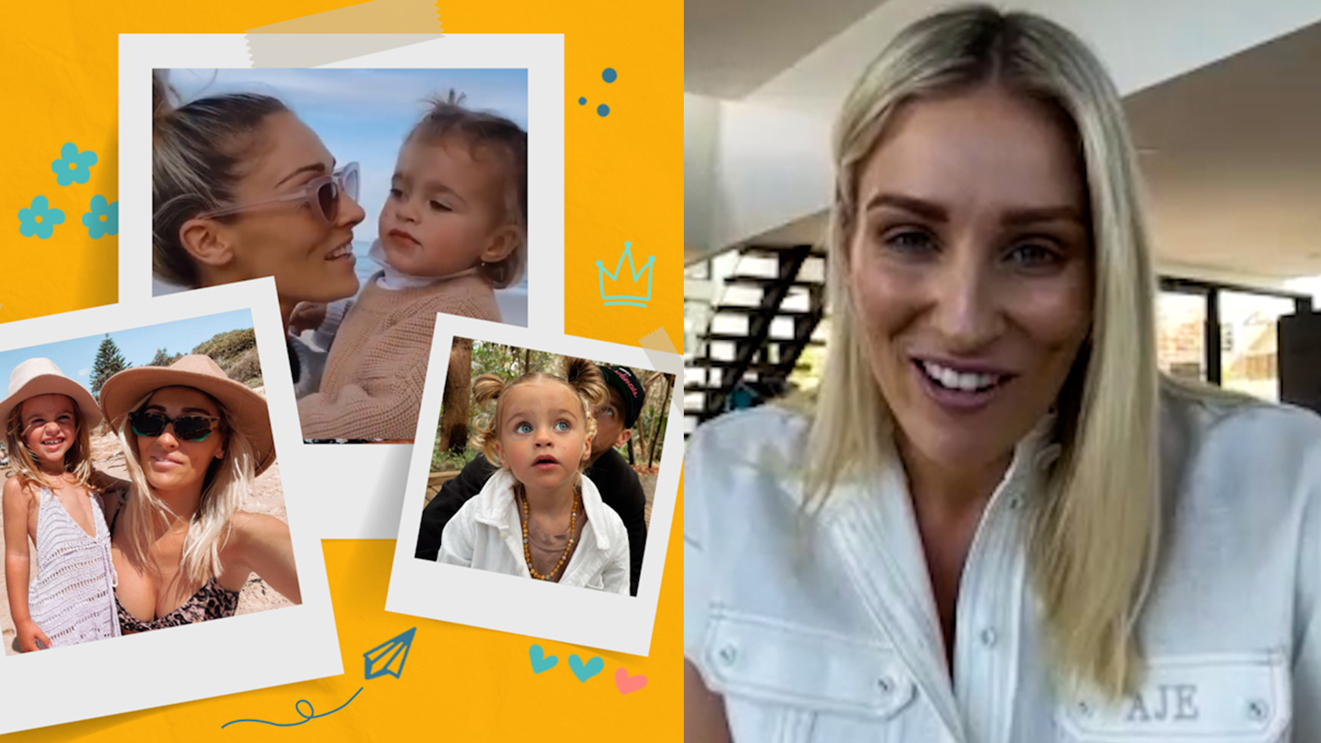 Allana Ferguson on telling her daughter about her pregnancy
