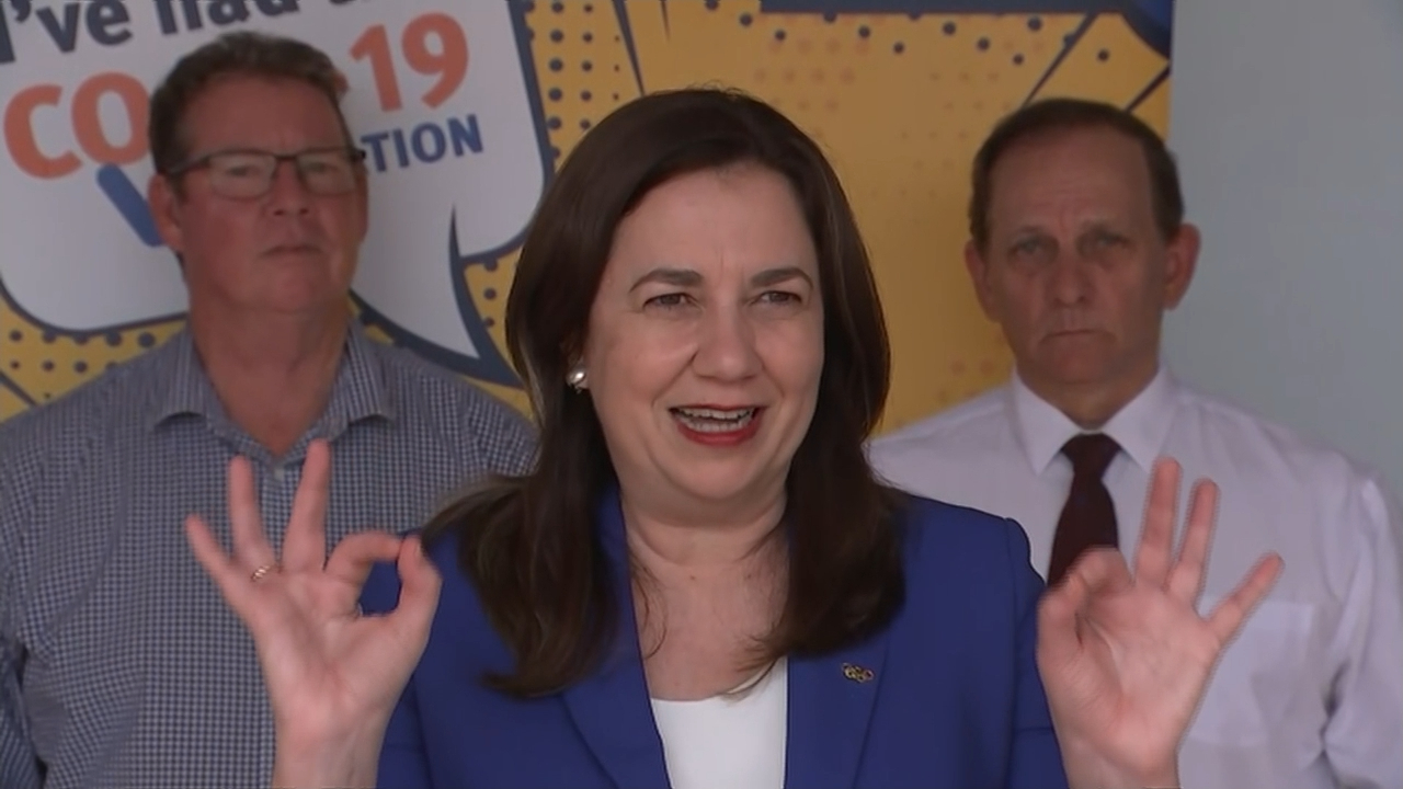 Queensland Premier urges state to get vaccinated before border opening