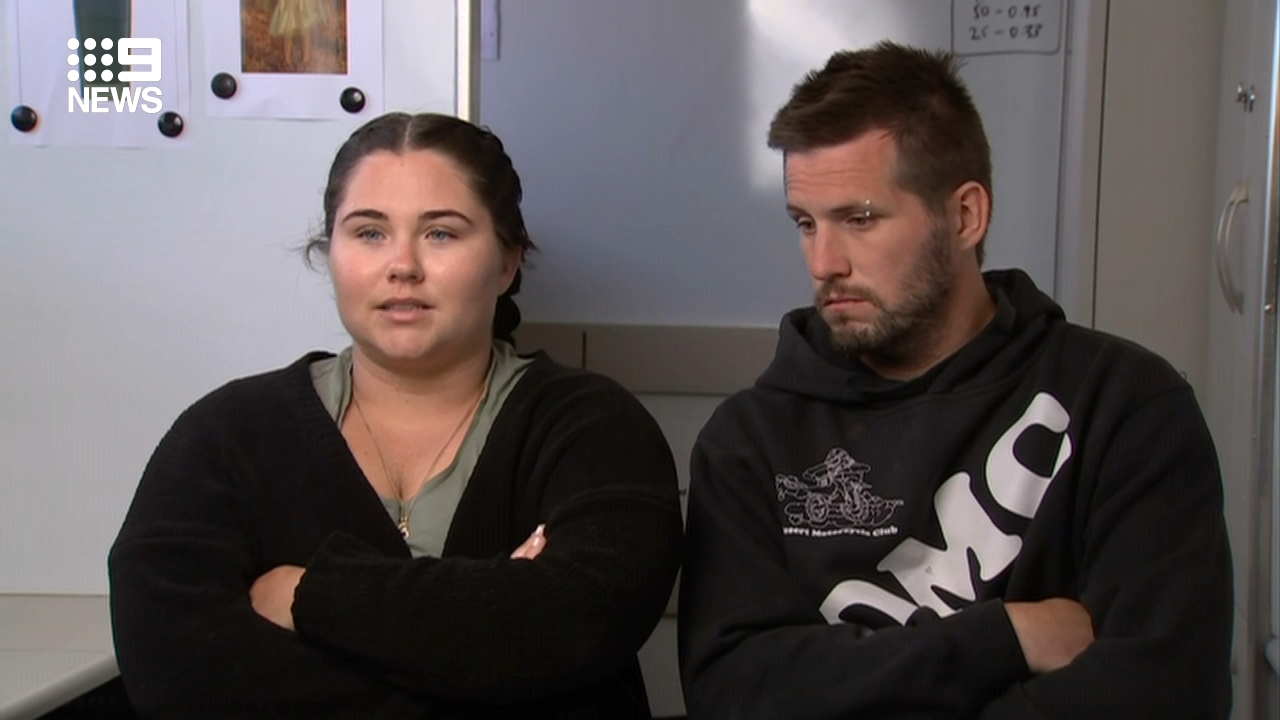 Parents of missing four-year-old address the media