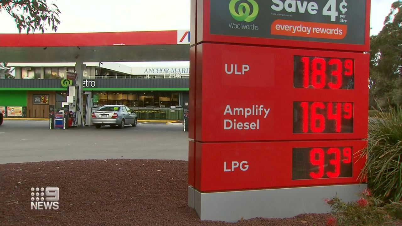 Petrol prices at all-time high