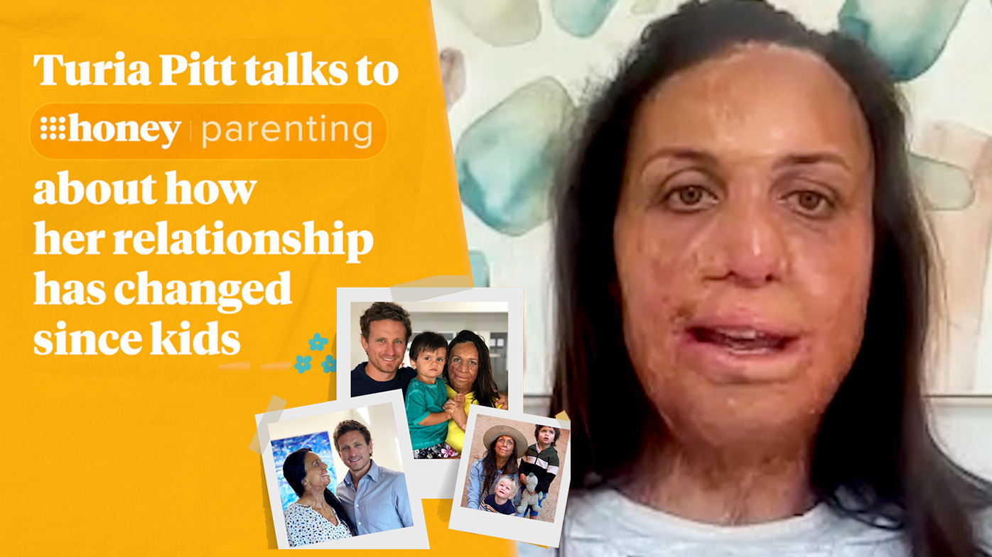 Turia Pitt on how her relationship has changed since kids