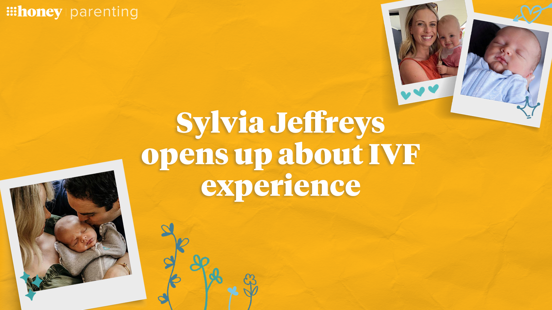 Sylvia Jeffreys opens up about IVF experience