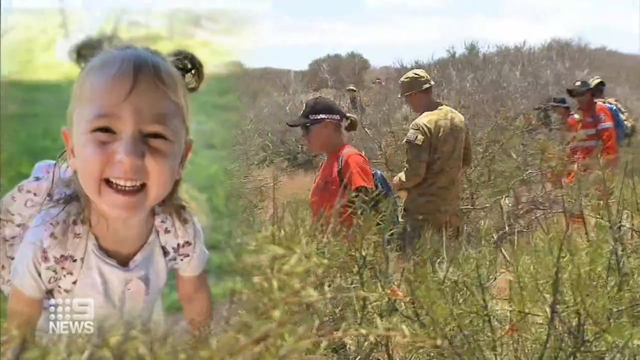 No suspects as the search continues for missing WA girl Cleo Smith