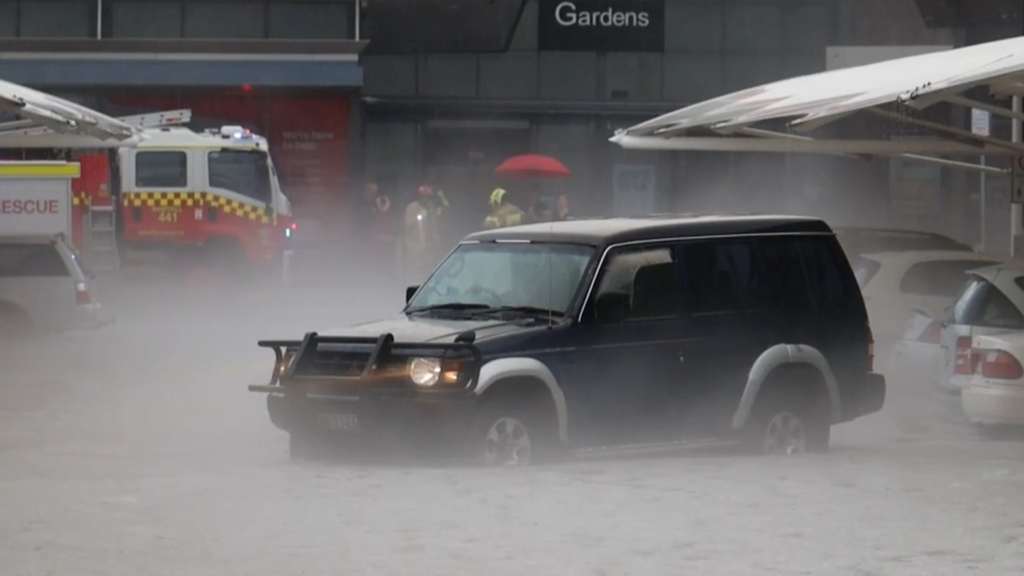 Major storm clean-up starts on the NSW Mid-North Coast