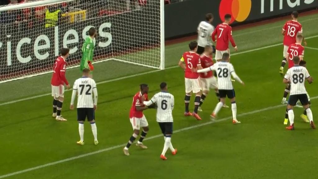 United punished by big defender