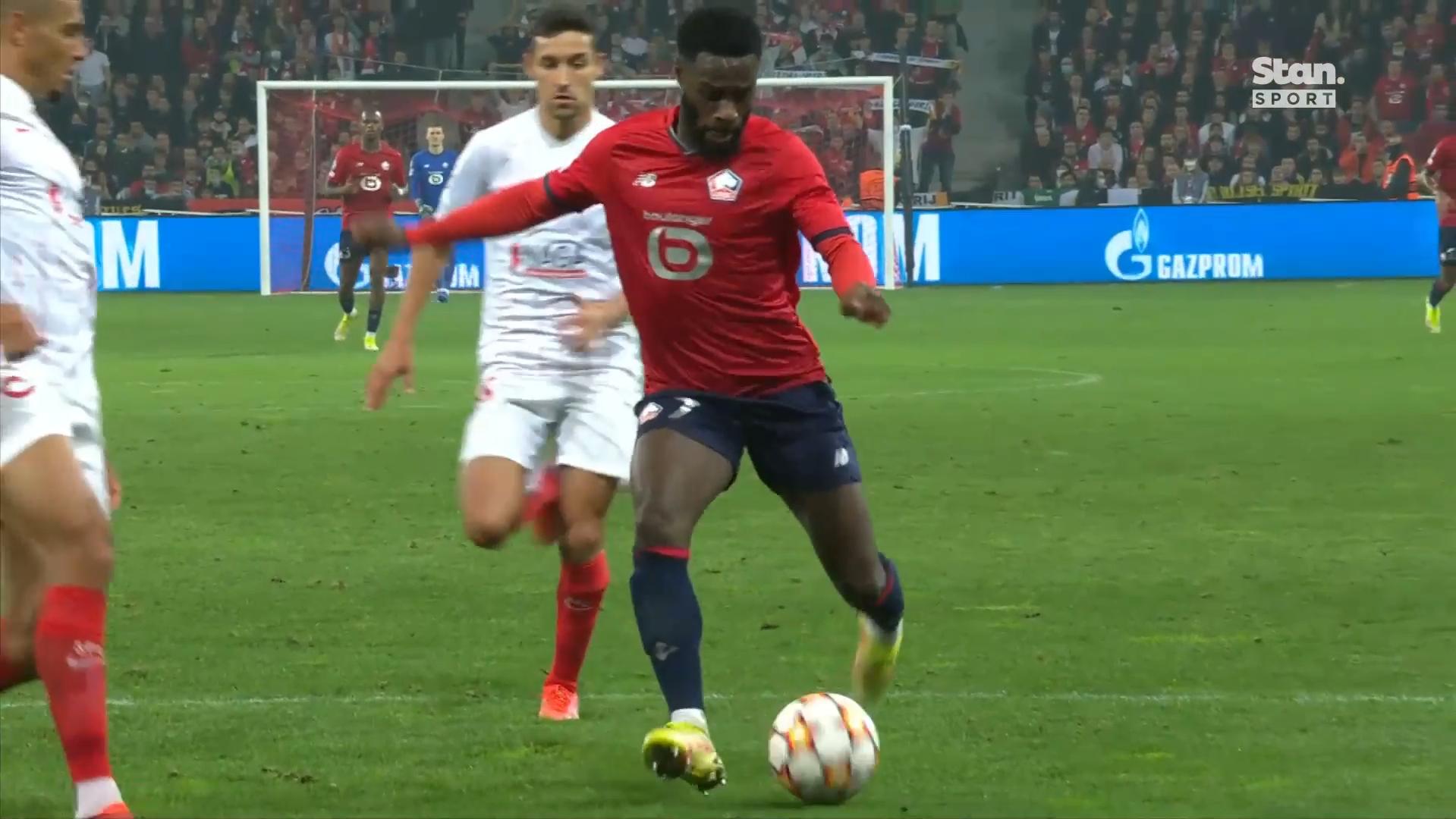 Champions League highlights: Sevilla vs Lille