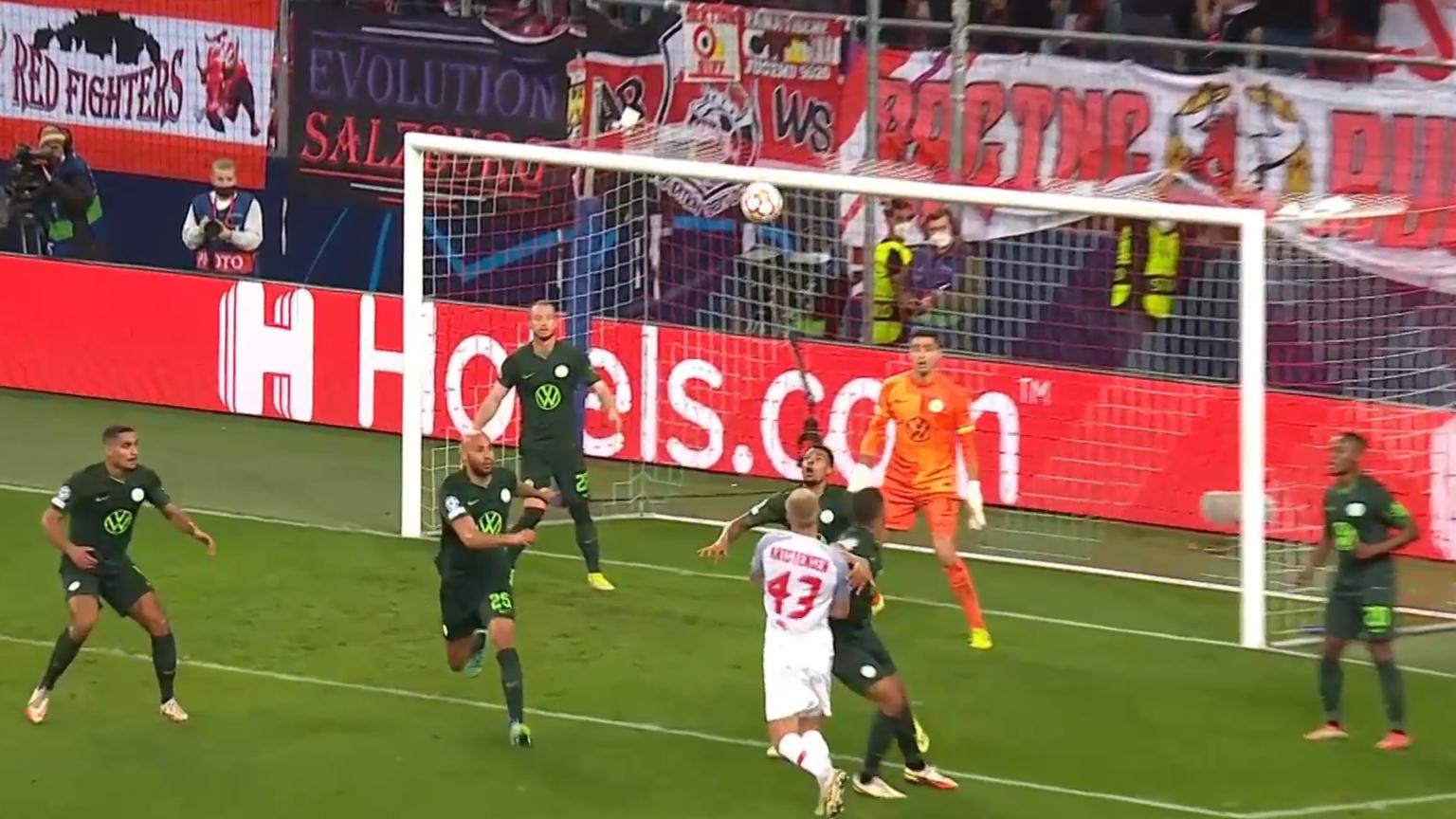 Champions League highlights: RB Salzburg vs Wolfsburg