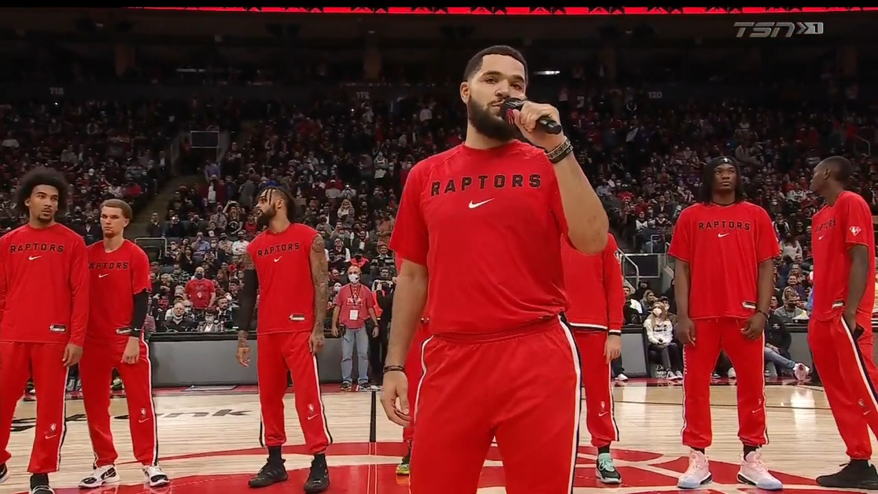 Emotional homecoming for Toronto Raptors