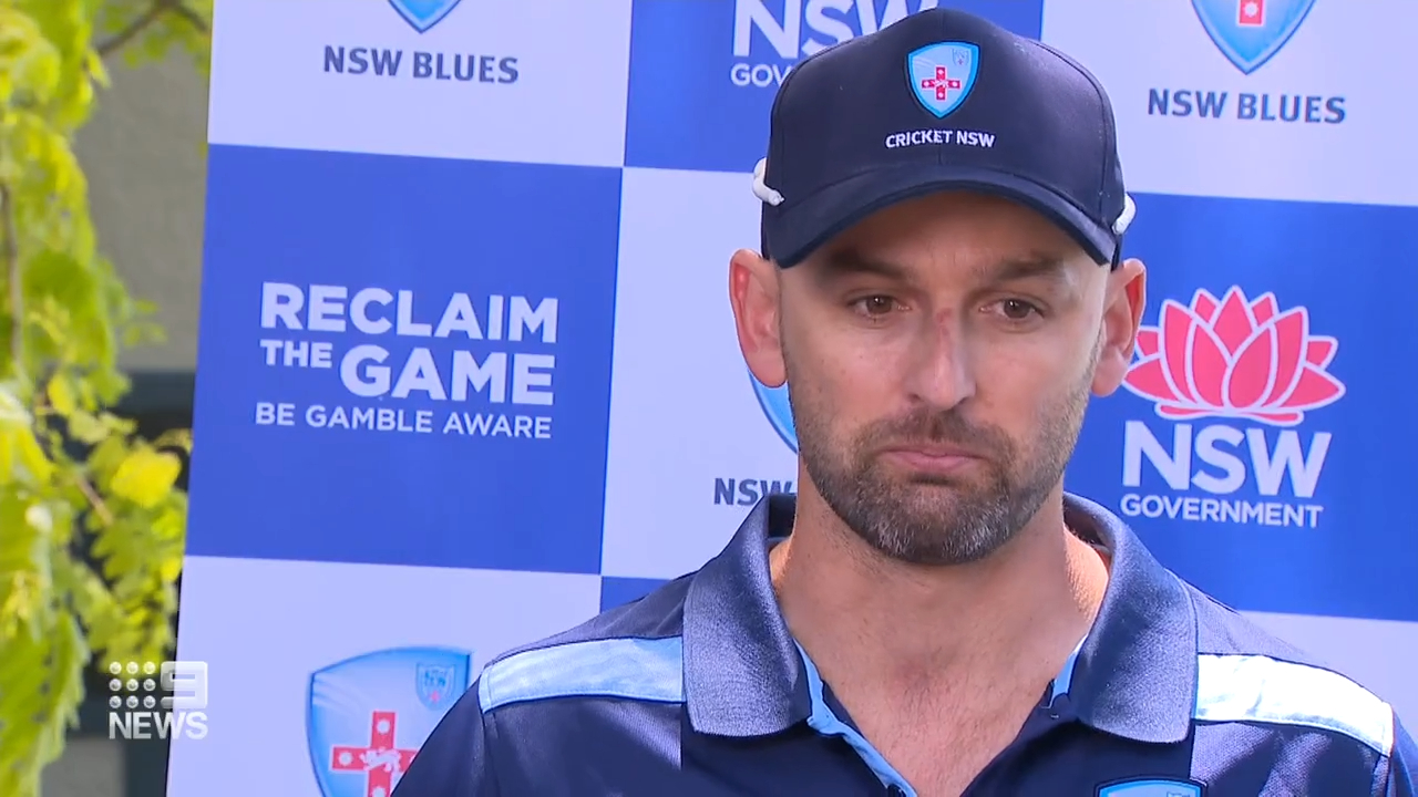 Nathan Lyon speaks after concussion