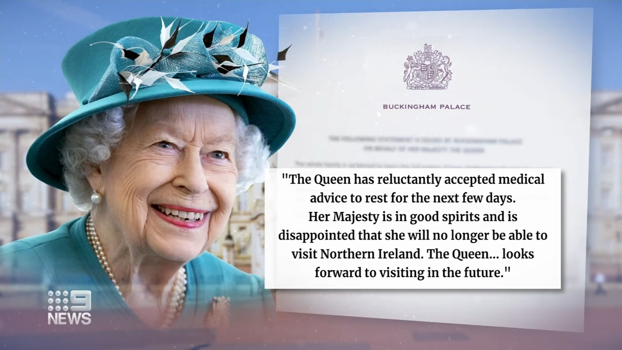 Concerns for the Queen's health after trip cancelled
