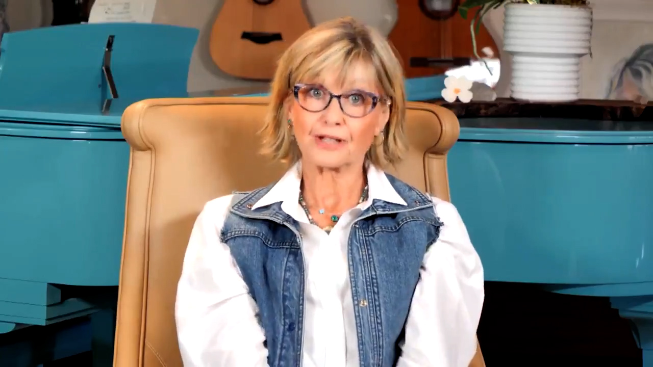 Olivia Newton-John gives cancer update