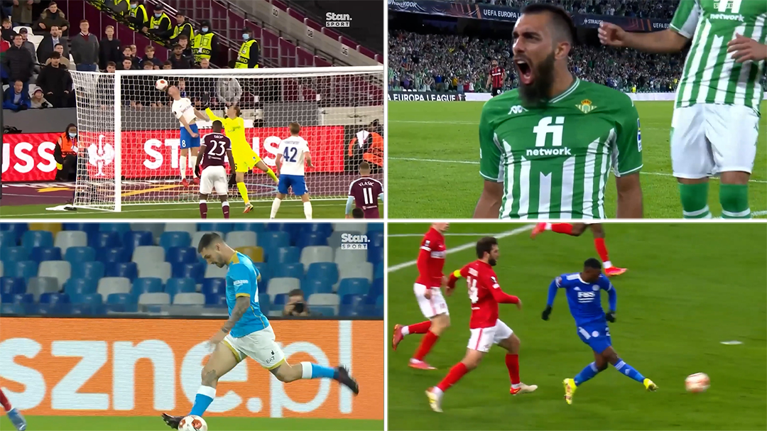 Every goal from Europa League Matchday 3