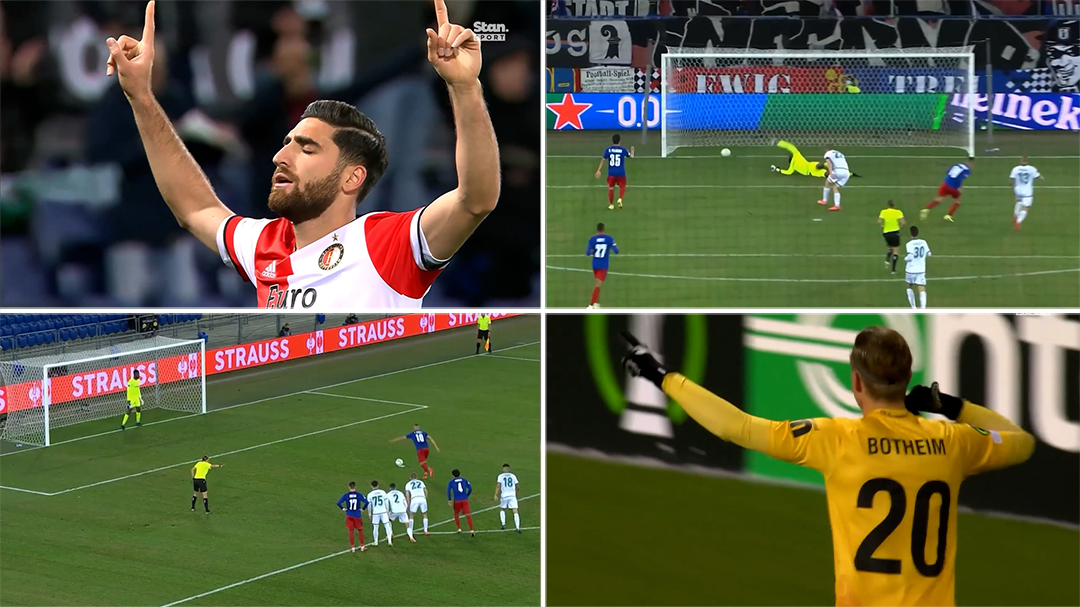 Every goal from Europa Conference League Matchday 3