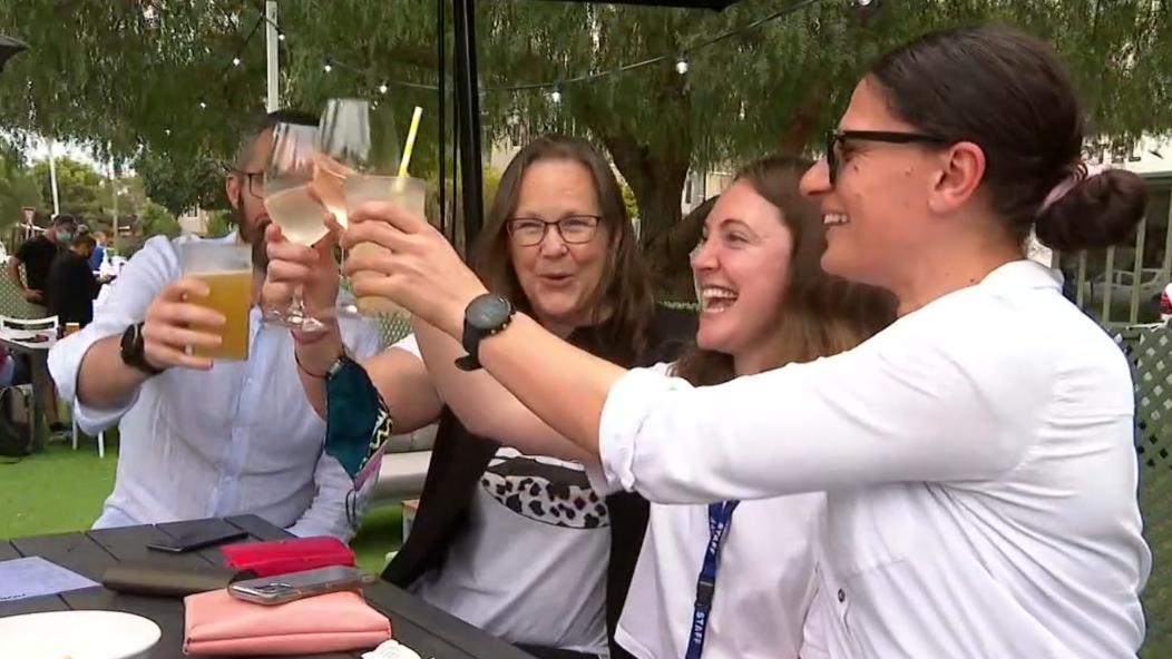 Melbourne celebrates 'Freedom Day' after lockdown ends