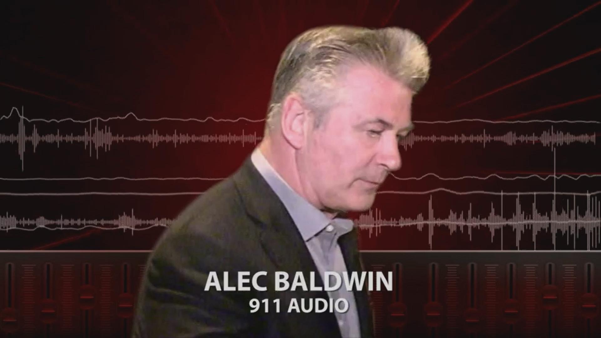 Emergency call audio released after fatal prop gun shooting on Alec Baldwin movie set