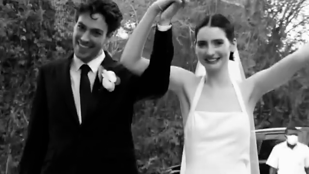 Meadow Walker married to Louis Thornton-Allan in private beachfront ceremony
