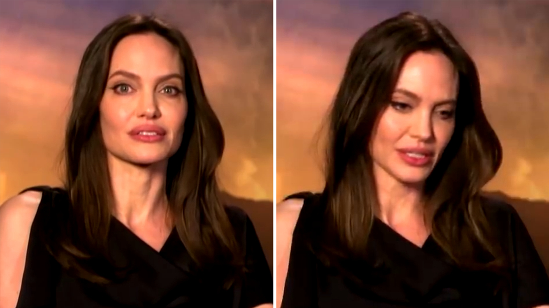 Angelina Jolie on the moment she knew motherhood had changed her