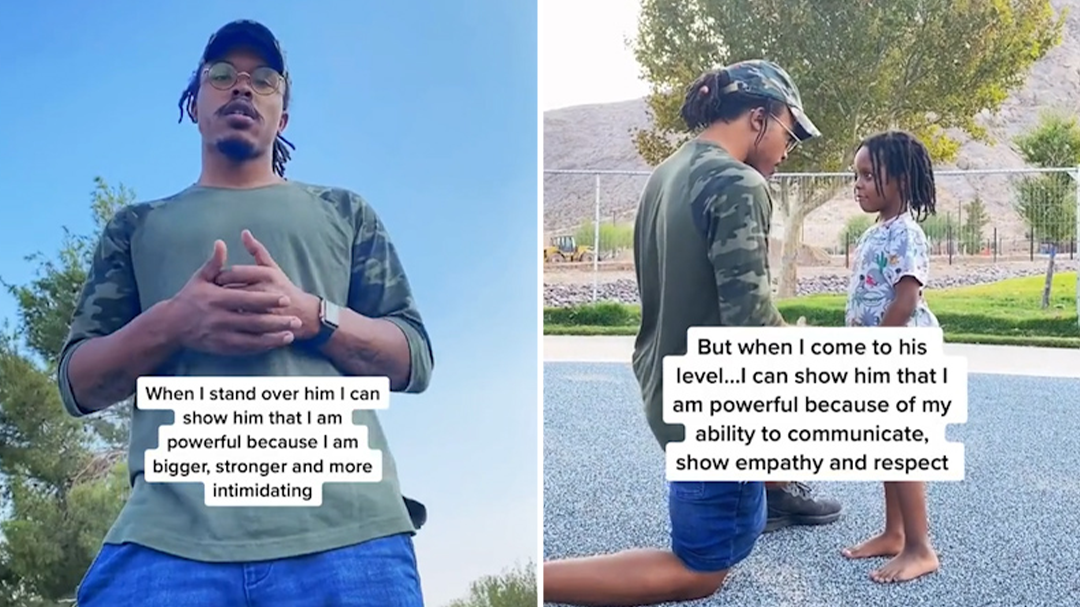 Devonte Bennett Bey shows how he improves communication with his kids