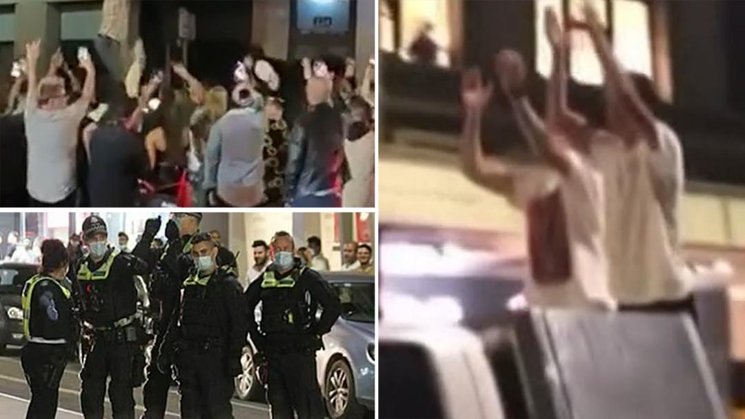 Melbourne's post-lockdown celebrations