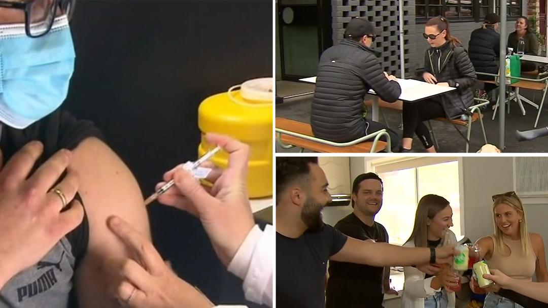 Victoria works towards vaccine milestone