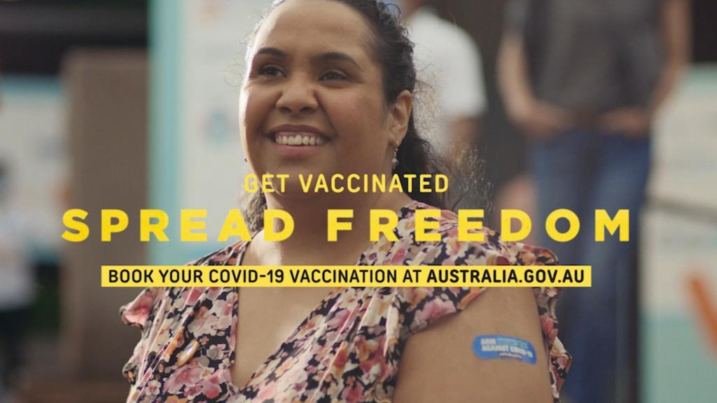 Australian Government launches 'spread freedom' ad campaign