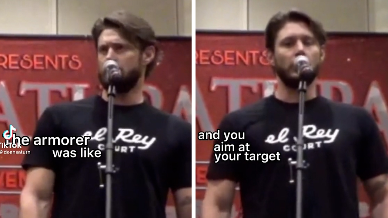 Video of Rust star Jensen Ackles talking about armourer emerges